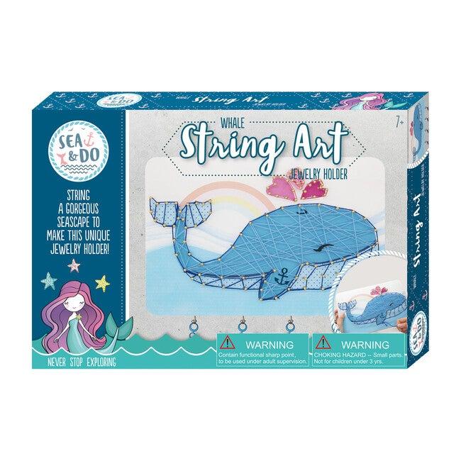 Whale String Art