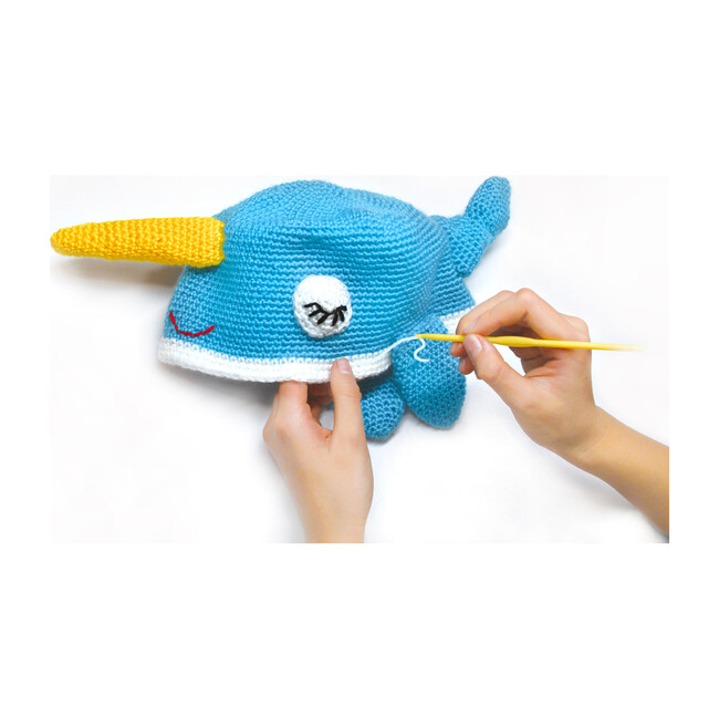 Crochet A Narwhal Hat