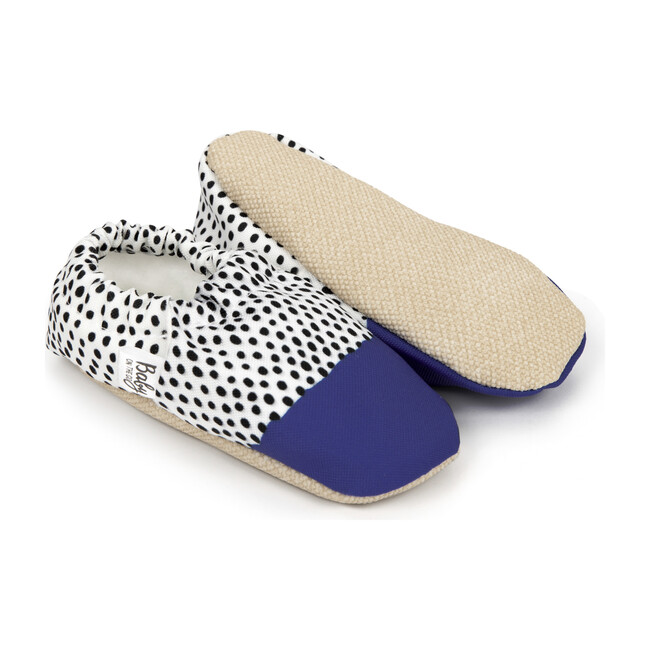 First Steps Slip-On, Polka Blue