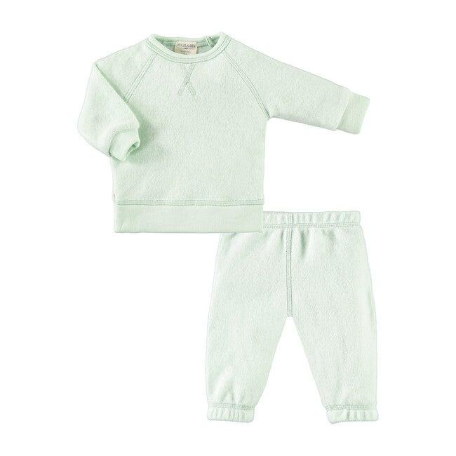 Baby Peace & Love Loungewear Set, Mint