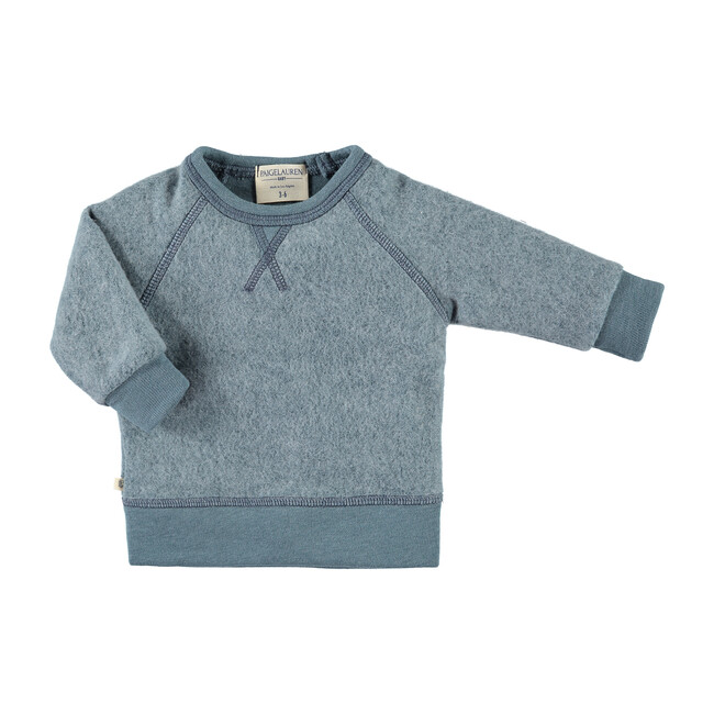 Baby Peace & Love Loungewear Set, Blue