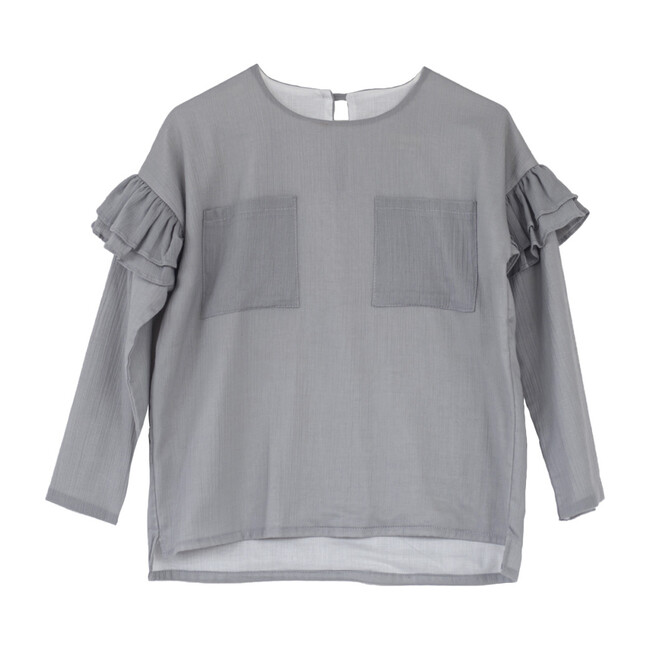 Basilsea Blouse, Grey