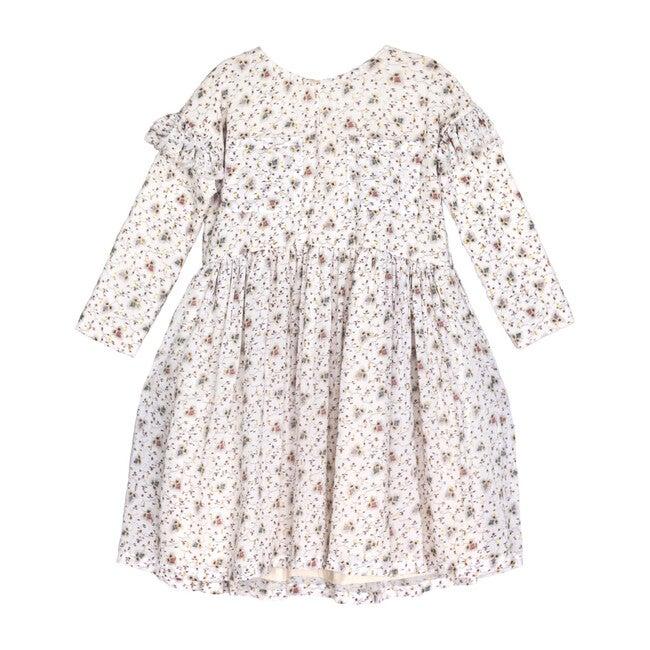 Basilia Dress, Flowers