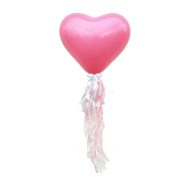 Jumbo Heart Balloon Kit, Pink