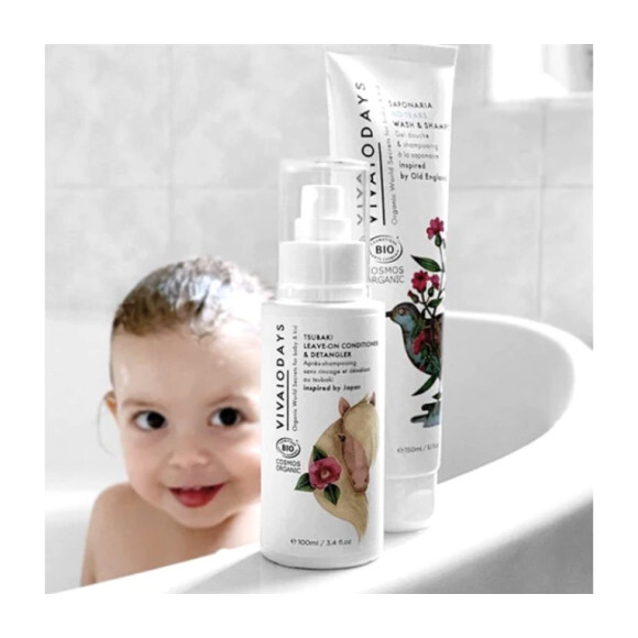 **Exclusive** Organic Hair Care Duo
