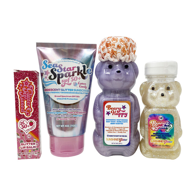 Beary Fun Suncare Bundle, SPF 50+