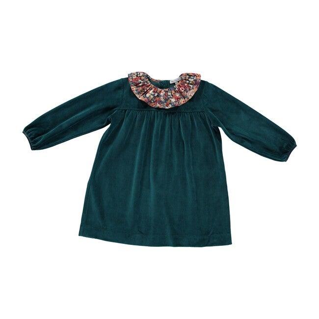 Lorena Dress, Emerald