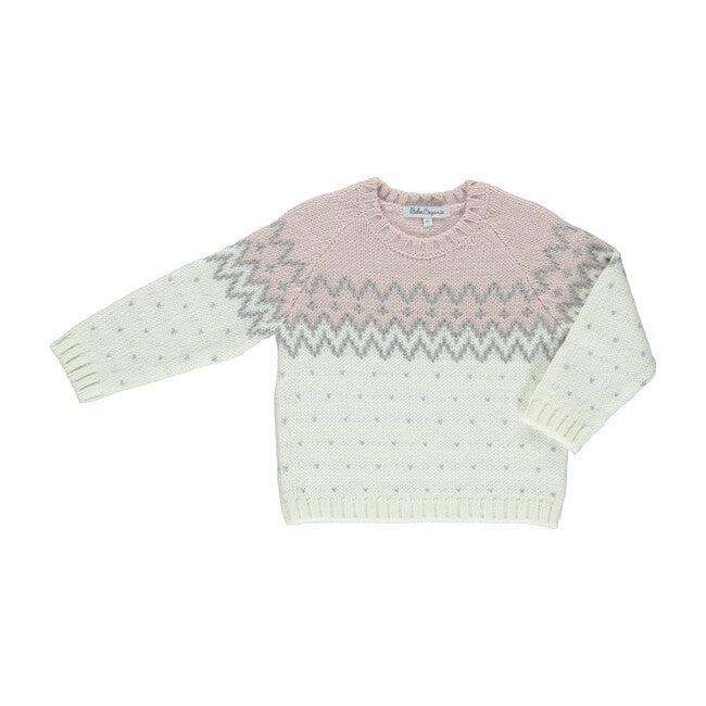 Esper Jumper, Pink Nordic - Sweaters - 1