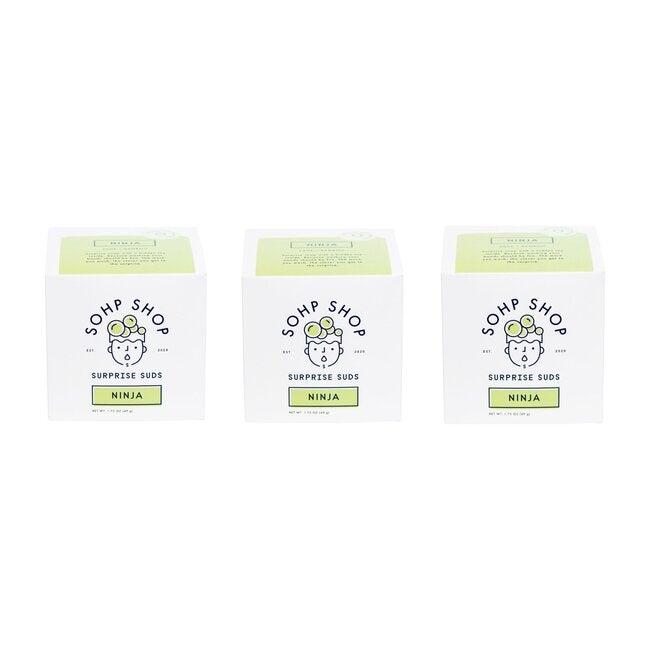 Ninja Surprise Soap, 3 Pack