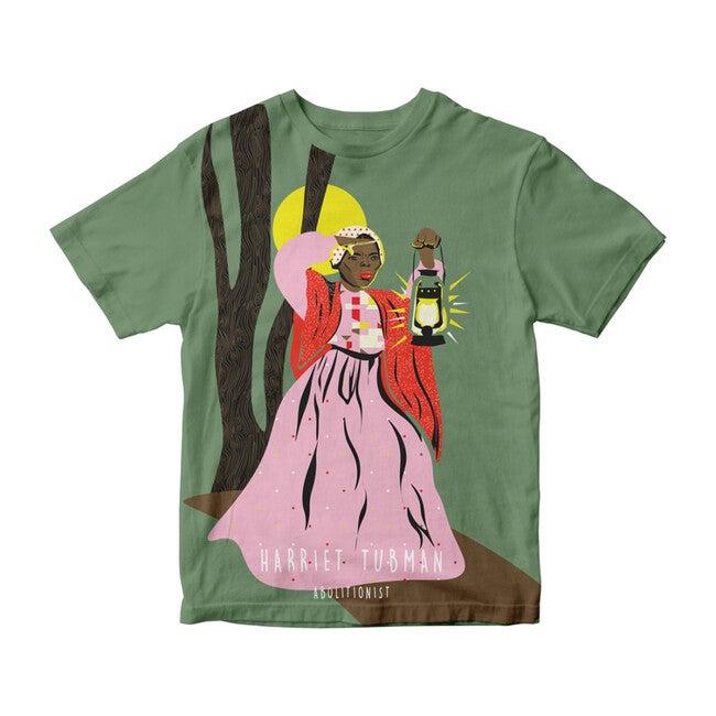 Harriet Tubman Trailblazer Tee, Olive