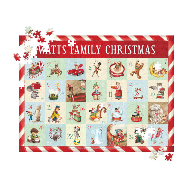 Countdown to Christmas 500-Piece Family Puzzle