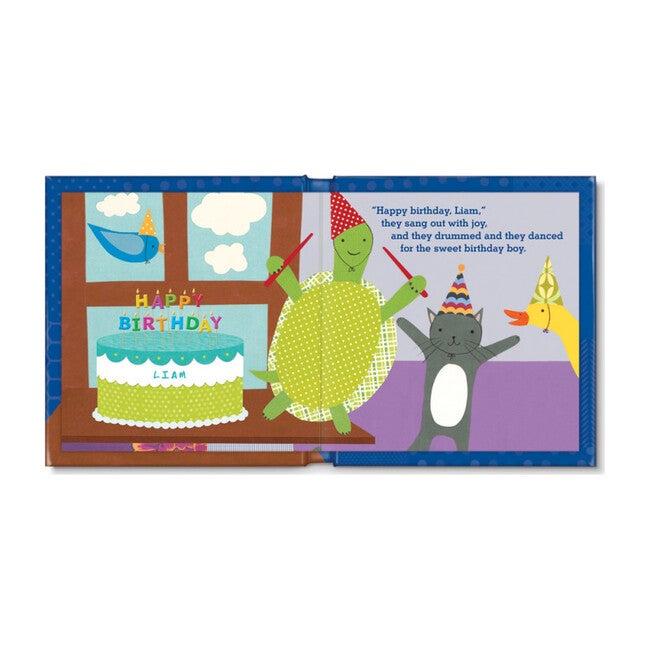 My Very Happy Birthday Personalized Board Book, Boy