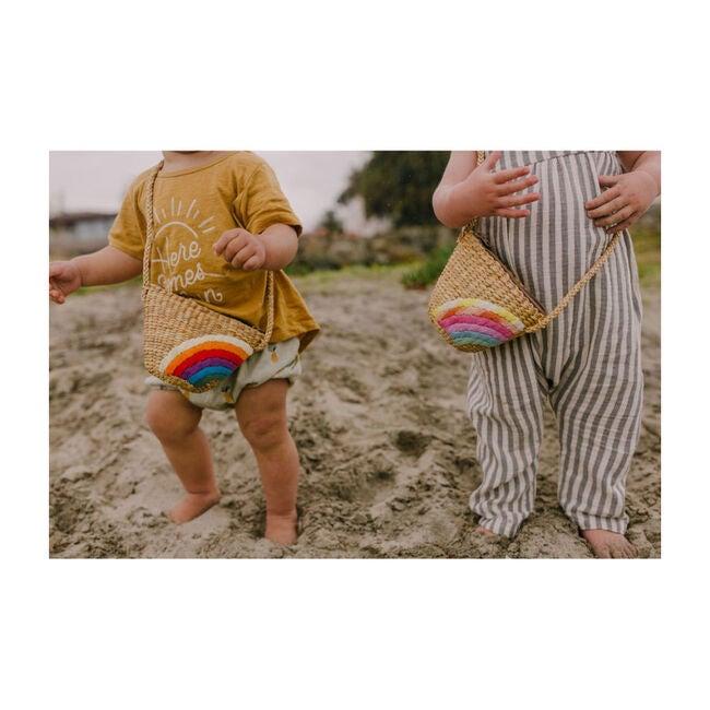 Rainbowbrite Handwoven Tote, Primary