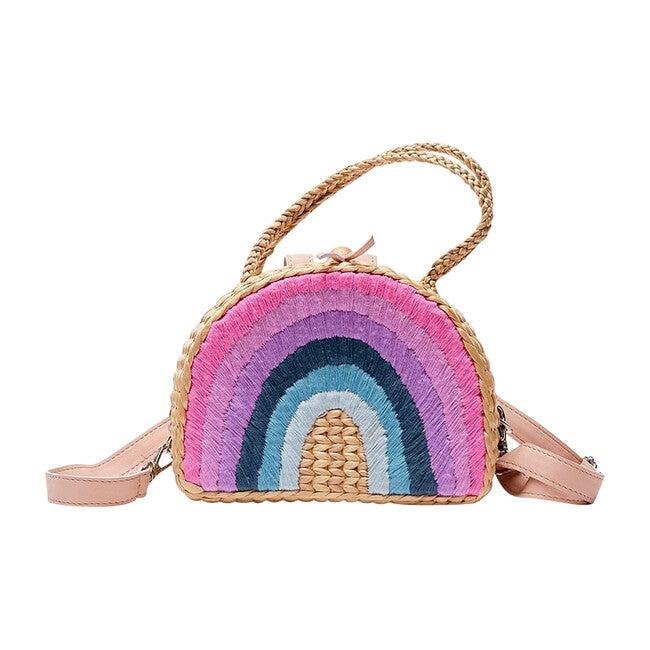 Rainbow Backpack, Plum