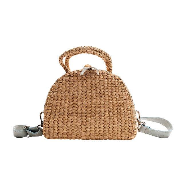 Mini Convertible Backpack, Dusty Blue