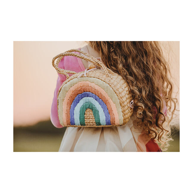 Rainbow Backpack, Pastel