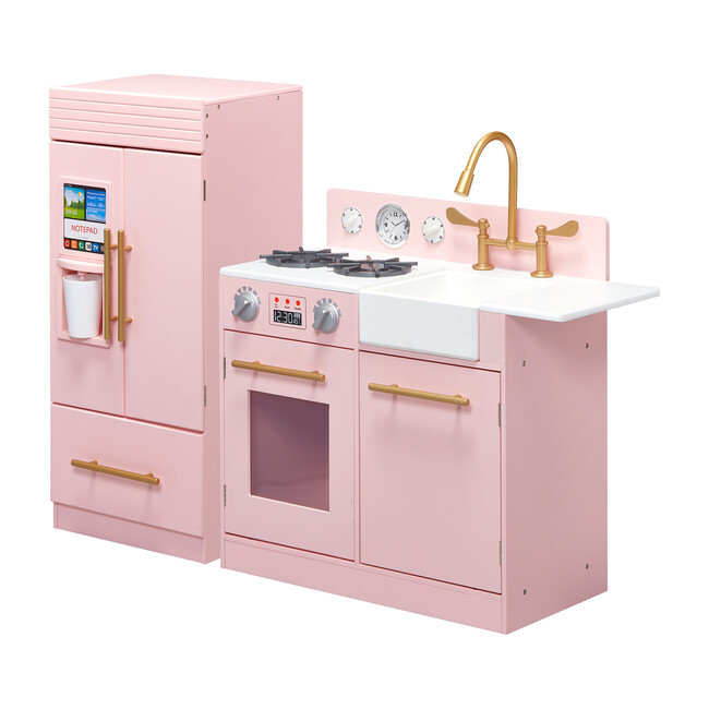 Little Chef Chelsea Modern Play Kitchen, Pink