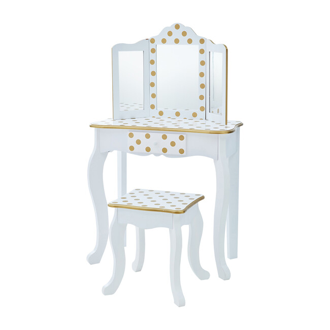 Play Vanity Set, White