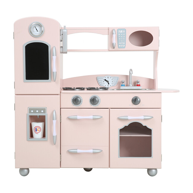 Little Chef Fairfield Retro Play Kitchen, Pink