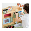 Little Chef Florence Classic Play Kitchen, Wood Grain - Play Kitchens - 3