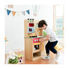 Little Chef Florence Classic Play Kitchen, Wood Grain - Play Kitchens - 4
