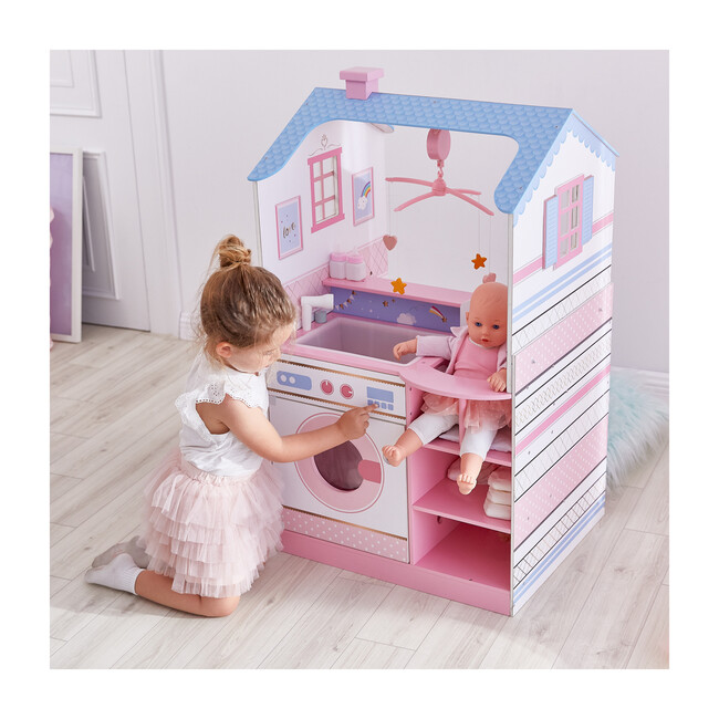 Olivia's Classic Doll Changing Station Dollhouse