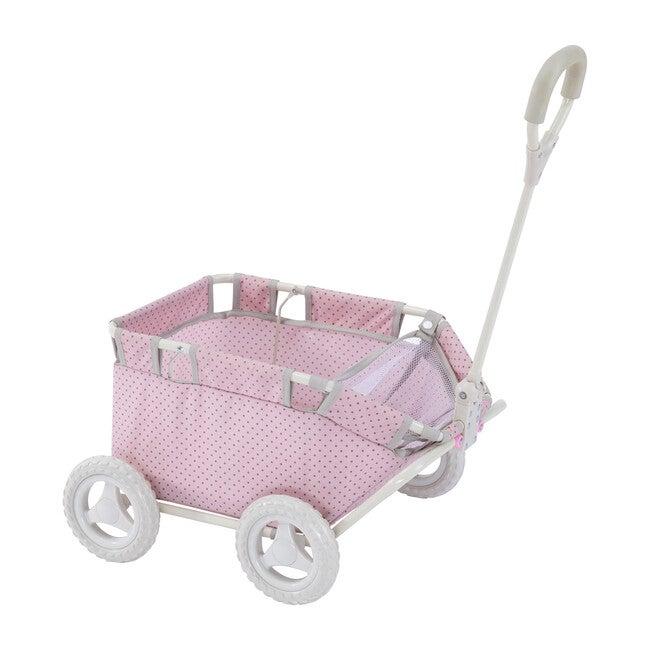 Polka Dots Princess Doll Wagon