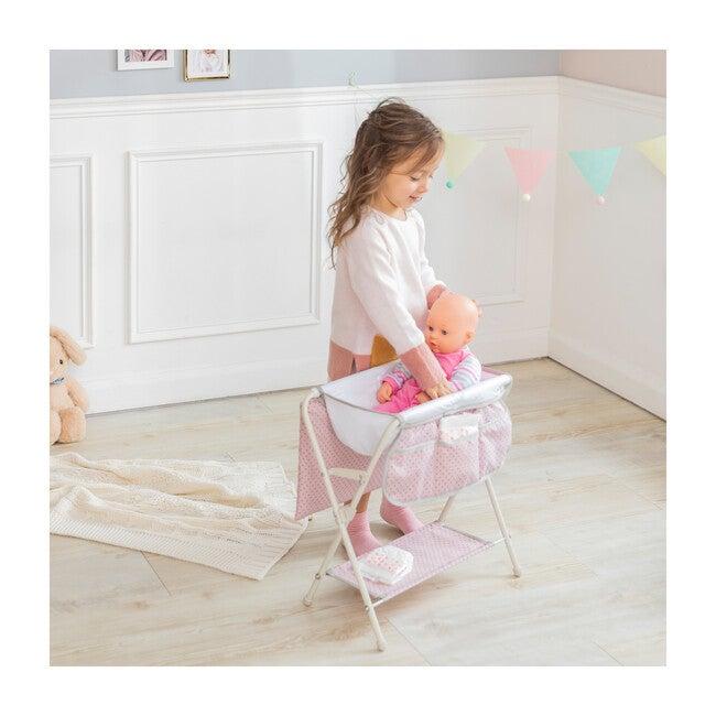 Polka Dots Princess Baby Doll Bath Tub