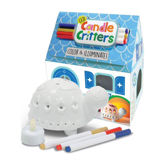 LED Candle Critters, Turtle