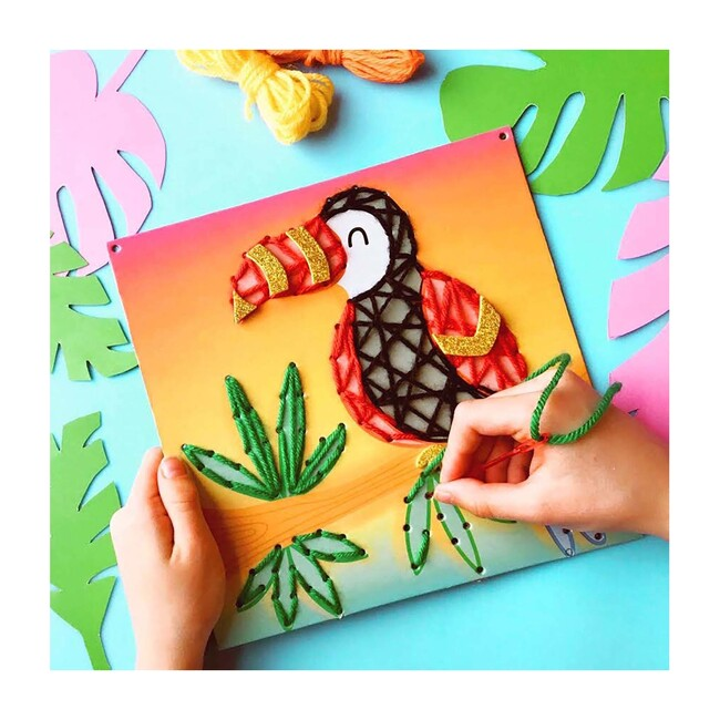 String Art Pictures, Jungle Friends
