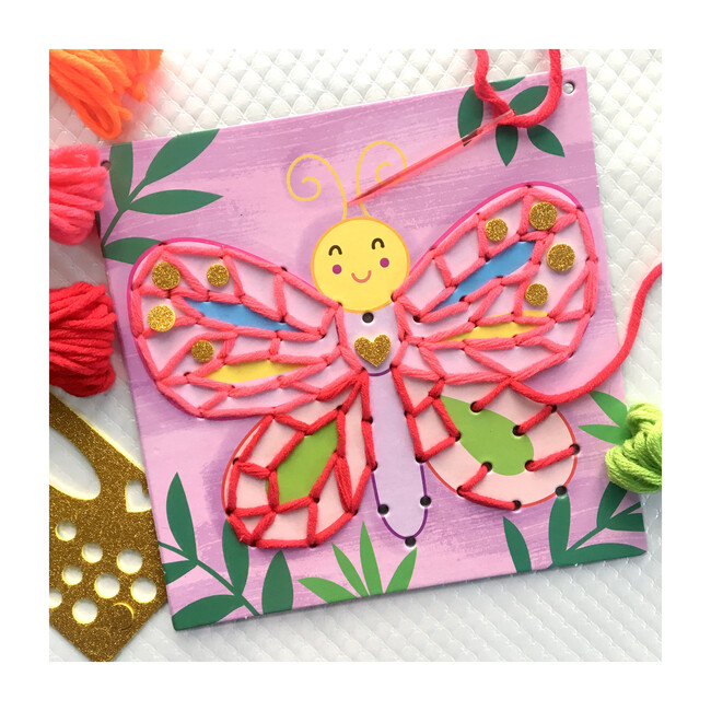 String Art Pictures, Busy Garden
