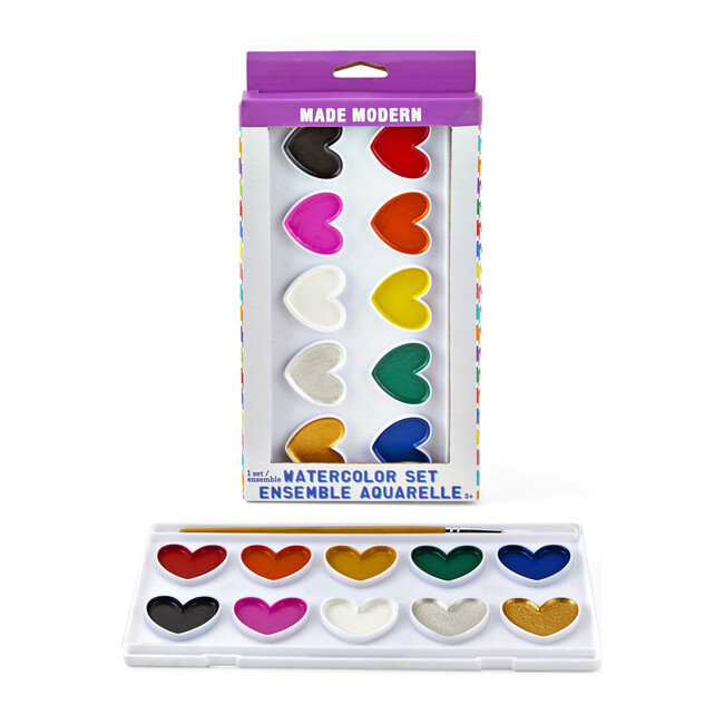 I Heart Watercolor Set