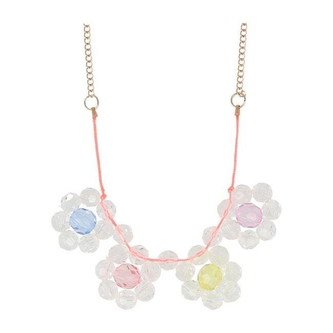 Flower Jewel Necklace