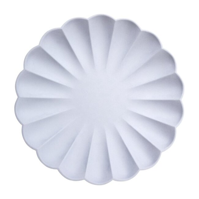 Blue Simply Eco Large Plate