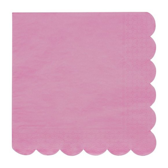 Coral Simply Eco Large Napkins