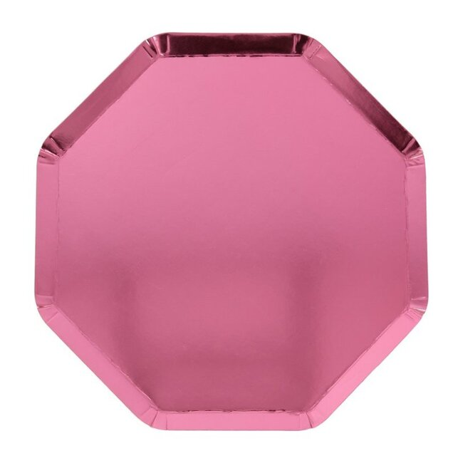 Metallic Pink Side Plates