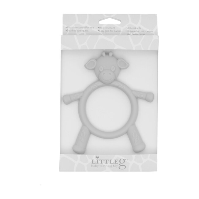 Little G Teething Toy, Silver