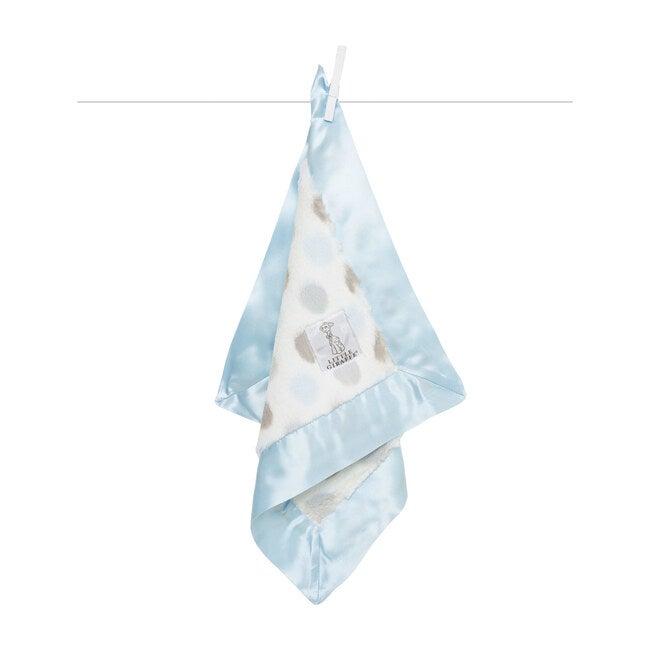 Luxe Dot Baby Blanky, Blue