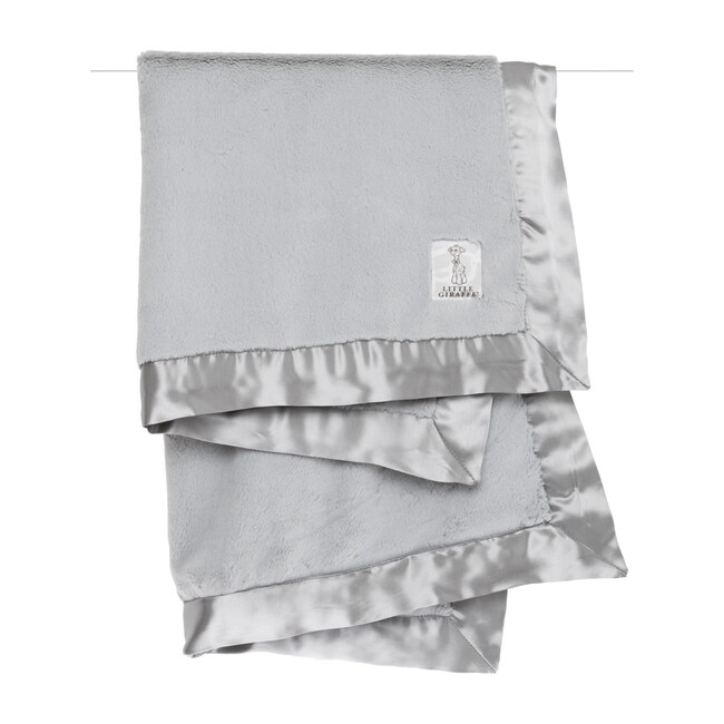 Luxe Baby Blanket, Silver