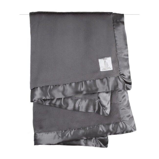 Luxe Baby Blanket, Charcoal