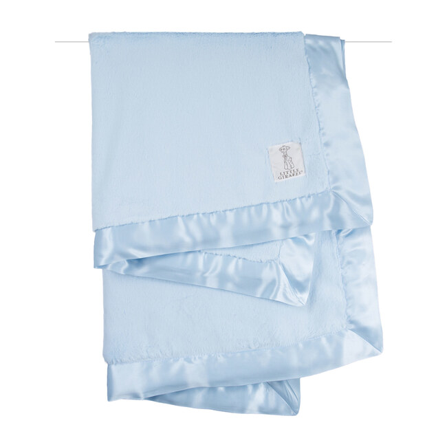 Luxe Baby Blanket, Blue