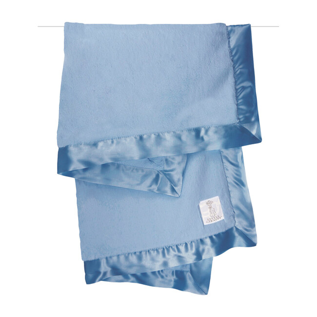 Luxe Baby Blanket, Cornflower