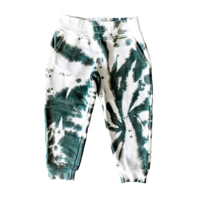 Youth Joggers, Dark Green - Sweatpants - 1 - zoom
