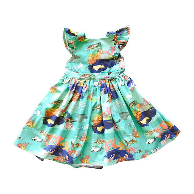 Ruffle Dress, Under the Sea