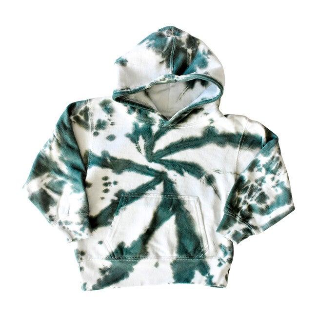 Youth Hoodie, Dark Green - Sweatshirts - 1