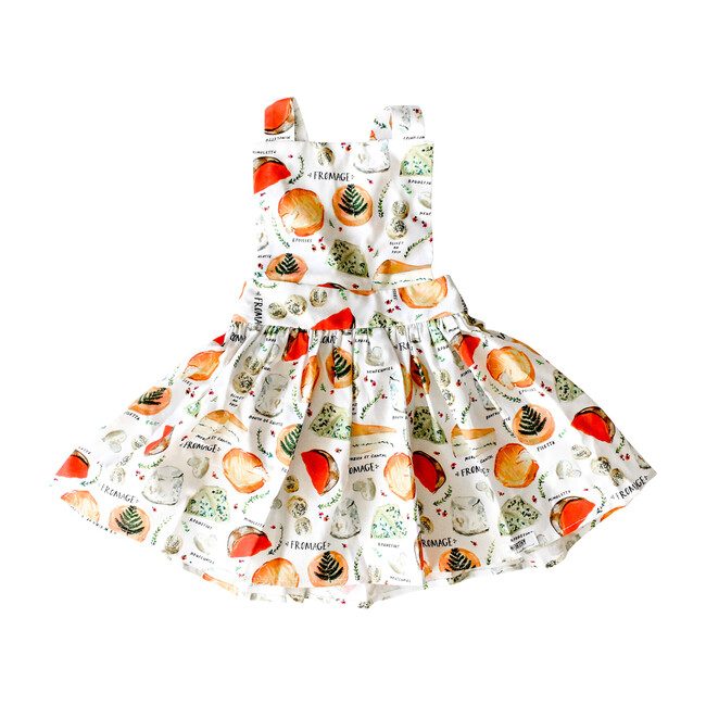Pinafore Dress, Say Fromage