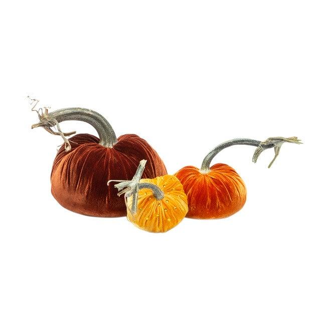 *Exclusive* Crystal Pumpkin Trio, Fall