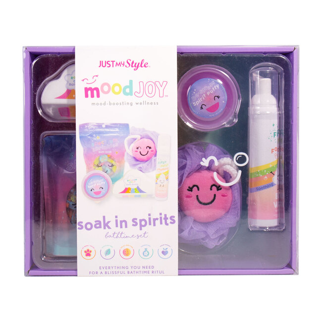 Soak In Spirits Bubbly Bathtime Set