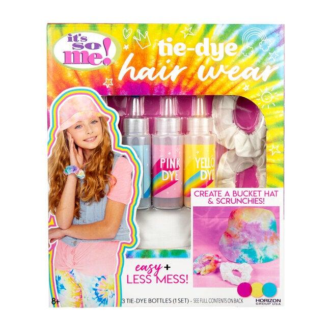 Tie-Dye Hair Wear