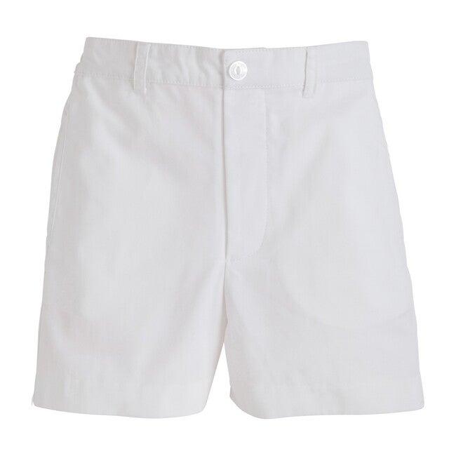Twill Boat Short, White